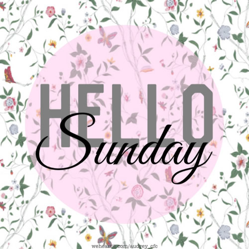 Hello Sunday Images