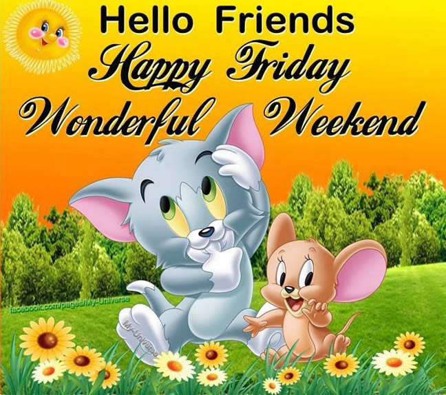 Hello Friends, Happy Friday...